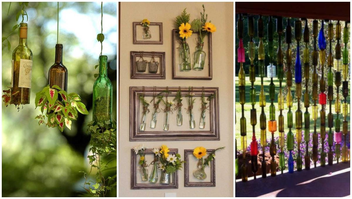 Econotascom 10 ideas para reutilizar botellas de vidrio for Ideas para reciclar botellas de vidrio