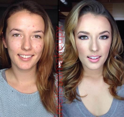 antes y hoy